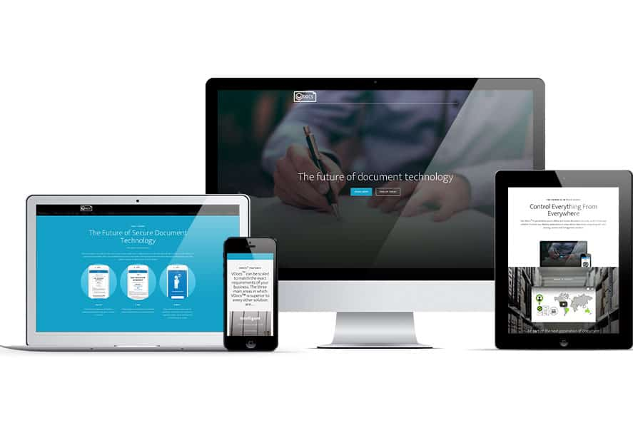 VDocs website on different devices